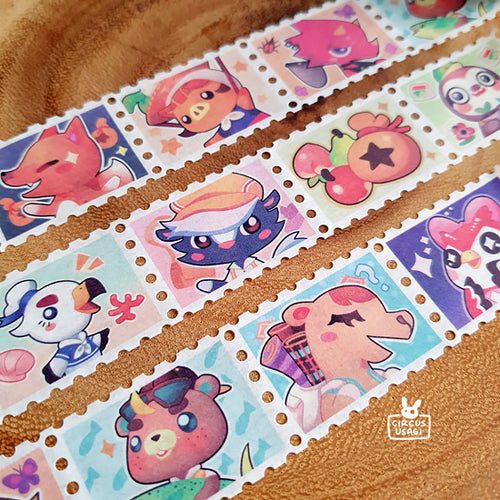 Washi tape | Friendly island visitors