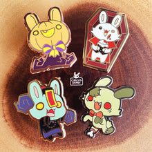 Load image into Gallery viewer, Enamel pins | Spoopy buns