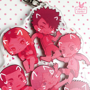 Charms | Haikyuu teams