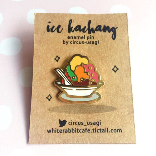 Enamel pins | Ice kachang