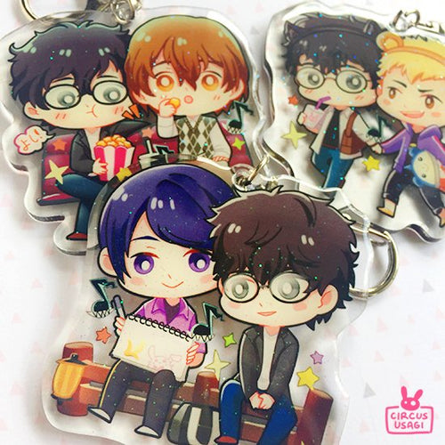 Glitter epoxy charms | P5 boys