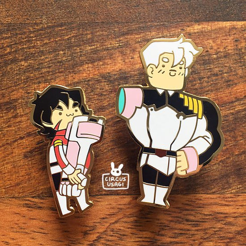 Enamel pins | Sheewo and keef (SET)