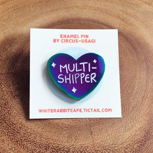 Enamel pin | Multishipper