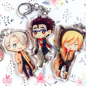 Epoxy charms | YOI matchy outfits