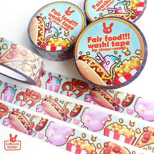 Washi tape | Fair food