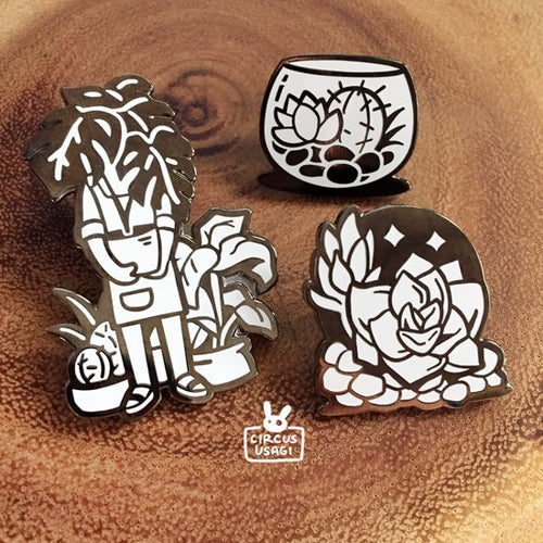 Enamel pins | Plant lovers