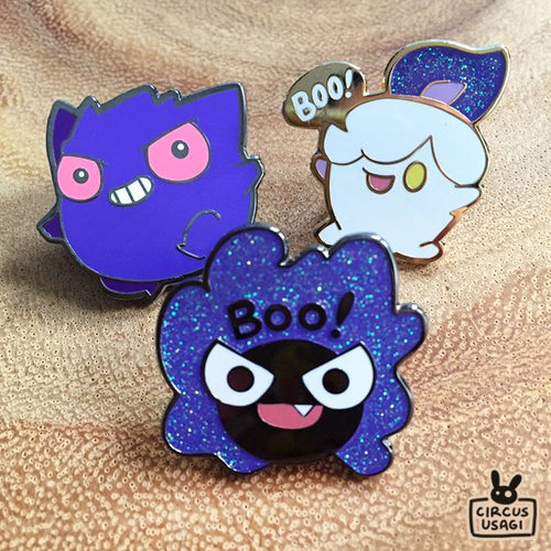 Enamel pins | Ghost pokemon