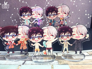 Acrylic standee | Victuuri on vacation