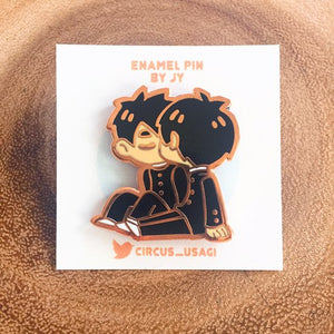 Enamel pins | Schoolboys in love