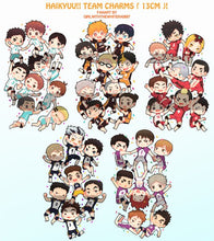 Load image into Gallery viewer, Acrylic charms | Haikyuu teams