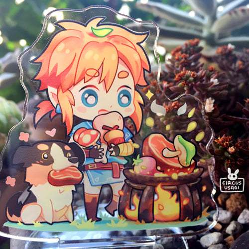 Acrylic standee | Link cooking