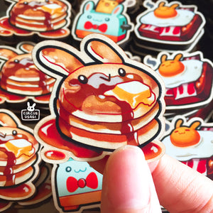 Wooden pins | Breakfast buns