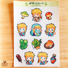 Load image into Gallery viewer, Transparent sticker sheet | BOTW
