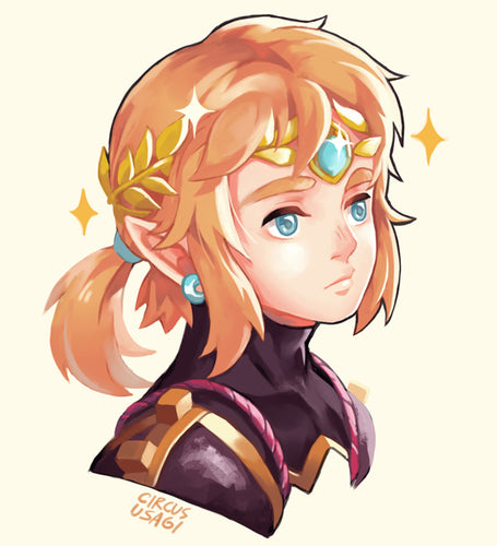 A5 print | Link in diamond circlet
