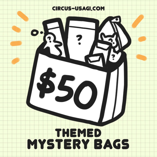 Themed mystery bags | $50