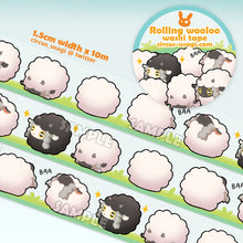 Load image into Gallery viewer, Washi tape | Rolling wooloo