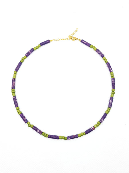 Collier Magical, violet