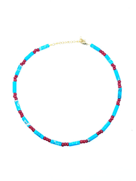 Collier Magical, turquoise