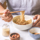 !NEW!Sundried Noodles (Classic sesame oil sauce) 日曬太陽乾麵 - 古早味麻油拌醬