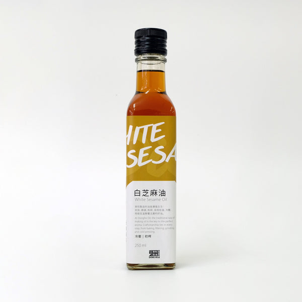 Cold Pressed White Sesame Oil 東和白芝麻香油
