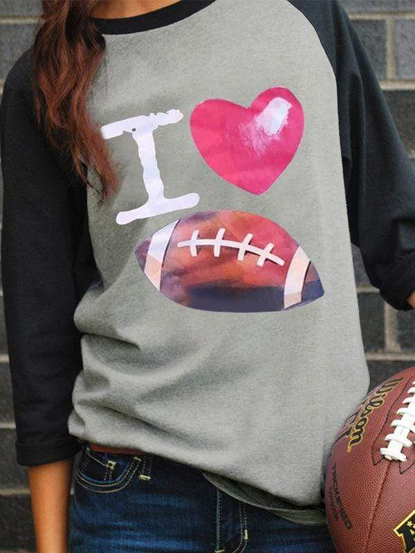 I Love Football Game Day T-shirts