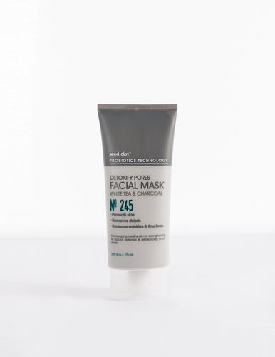 Detoxify Pores Mud Mask White Tea + Charcoal