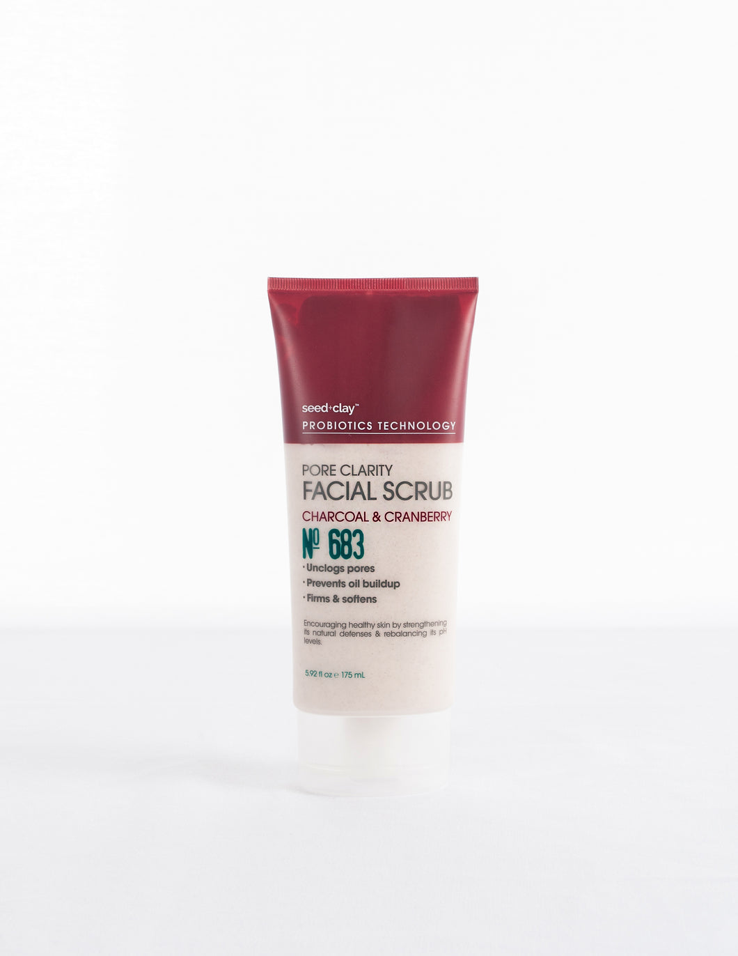 Pore Clarity Face Scrub Charcoal + Cranberry