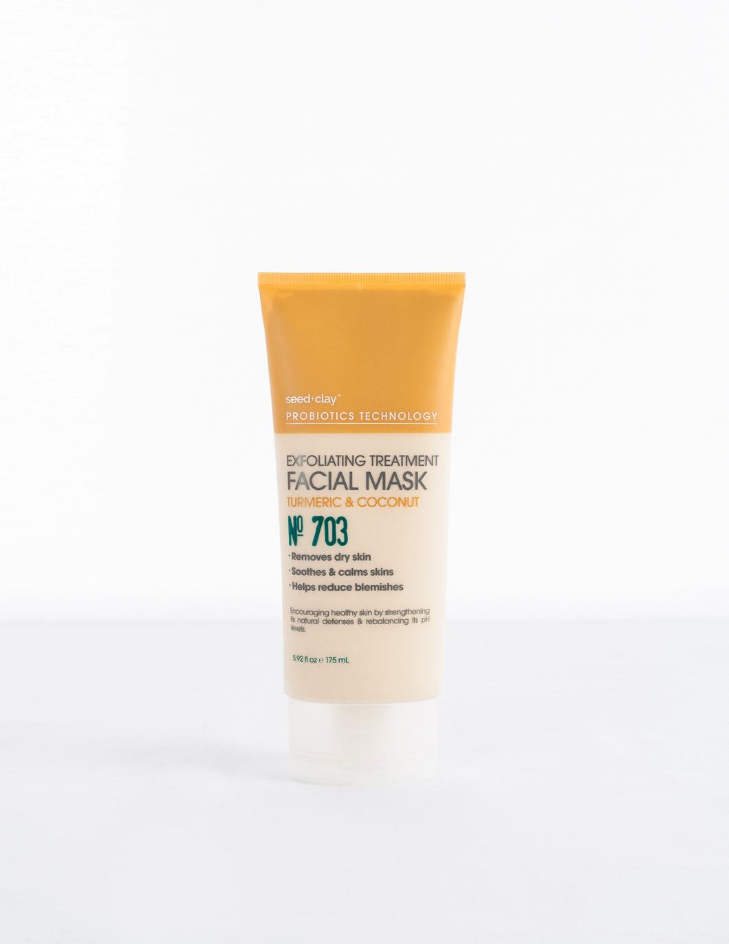 Exfoliating Treatment Mask Turmeric + Coconut
