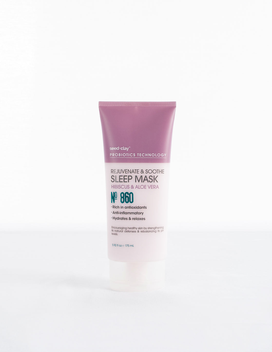 Rejuvenate & Soothe Sleep Mask Hibiscus + Aloe Vera