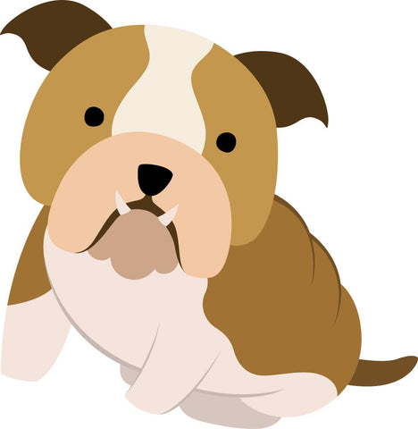 Image of Bügelsticker Hund 1 Bulldogge