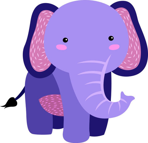 Image of Bügelsticker Elefant