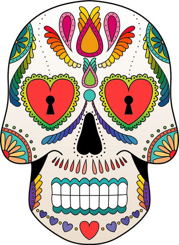 Image of Bügelsticker Sugar Skull5