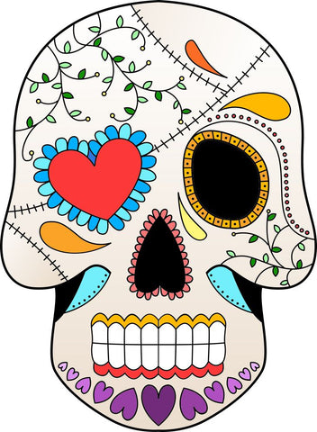 Image of Bügelsticker Sugar Skull7