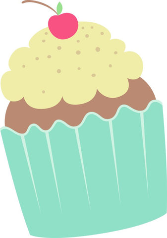 Image of Bügelsticker Cupcake