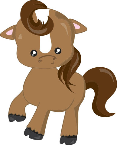 Image of Bügelsticker Pferd Pony