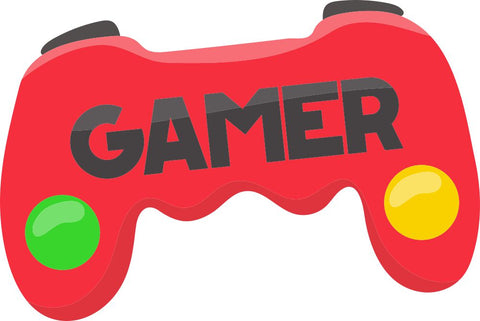 Image of Bügelsticker Gamer Controller 1