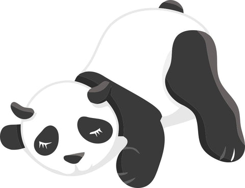 Image of Bügelsticker Panda 1