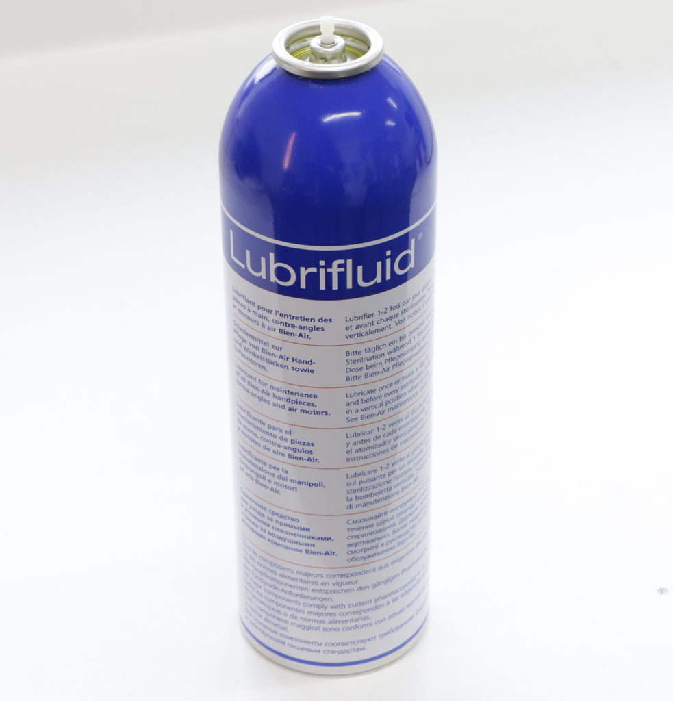 Bien Air Lubricare + Duo Pack Lubrifluid/Spraynet