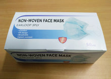 Non-Woven Face Mask - Earloop 3ply