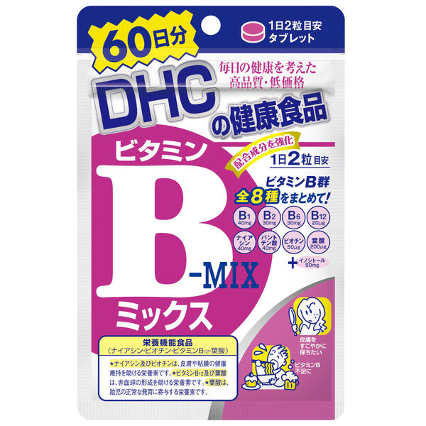DHC Vitamin B-Mix for 60 days
