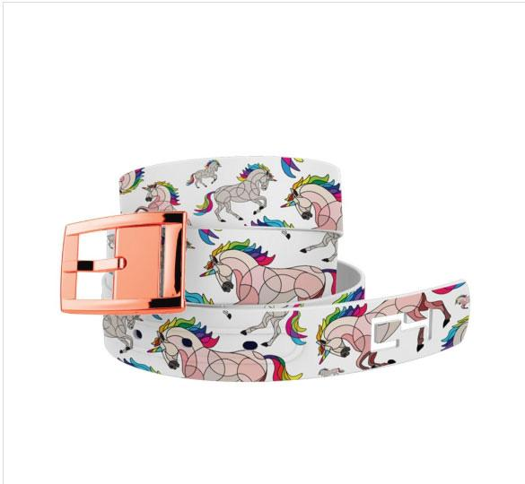 Belts - Chrome Buckle Belt C4 HOTL Unicorn