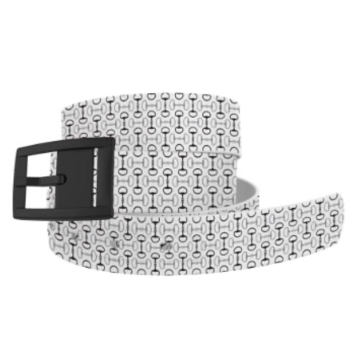 Belts - Matte Buckle C4 Bits and Pieces White
