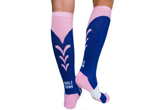 Boot Socks Boot Socks C4 Navy and Pink