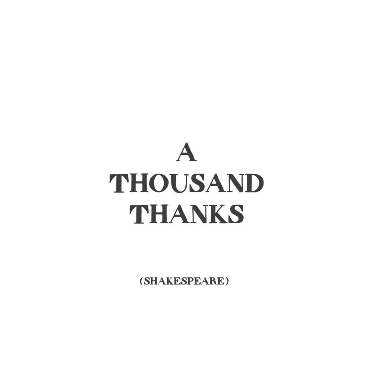 Gift Cards by Quotable Cards Greeting Cards Quotable Cards A Thousand Thanks