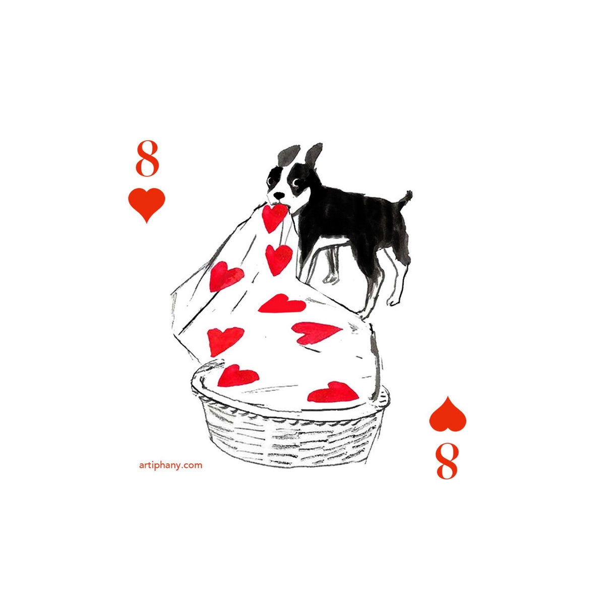 Pack of Dogs Playing Cards Gift Items Artiphany
