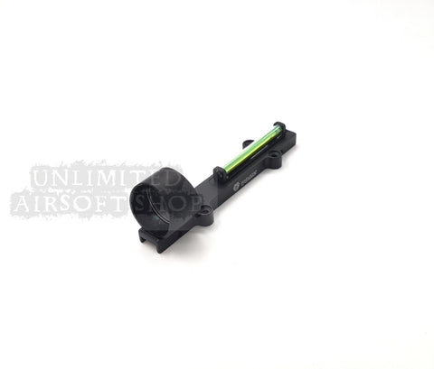 Airsoft tactical sight scope red dot Green fiber