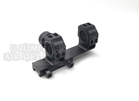 Airsoft tactical scope mount with bubble level 30mm