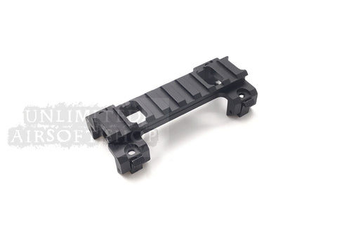 Airsoft MP5 scope Mount With 20mm Black
