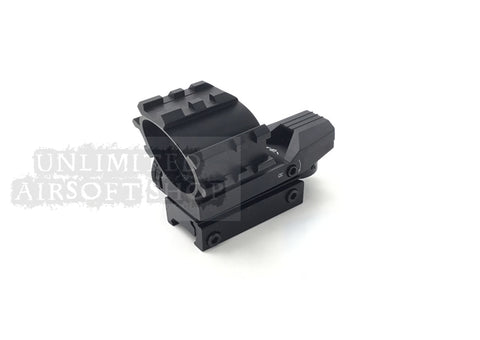 Airsoft multi rail red dot sight scope