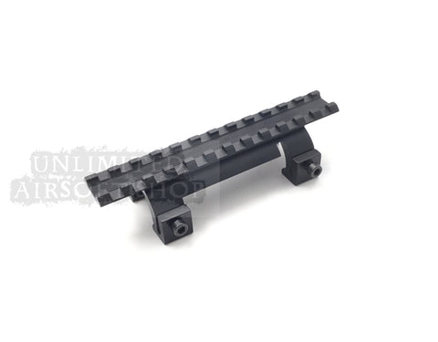 Airsoft MP5 scope Mount With 20mm Black - round